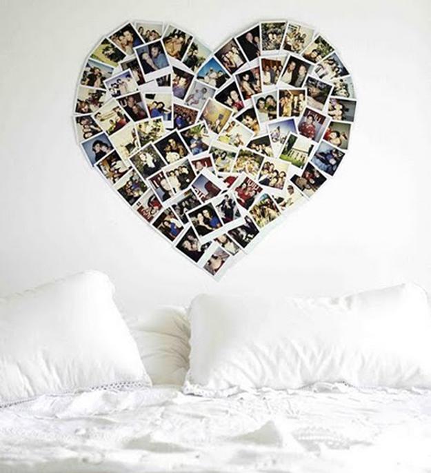 fotos na decoração de casa #9