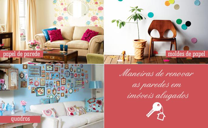 como decorar imóveis alugados 1