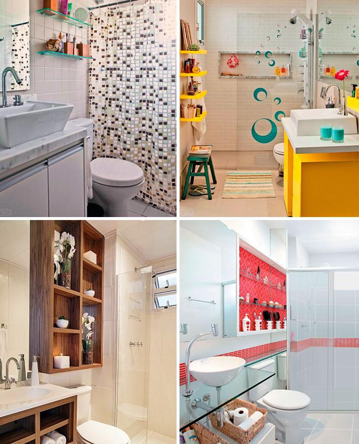 Solu Es De Decora O Para Banheiros Pequenos 24 Modelos