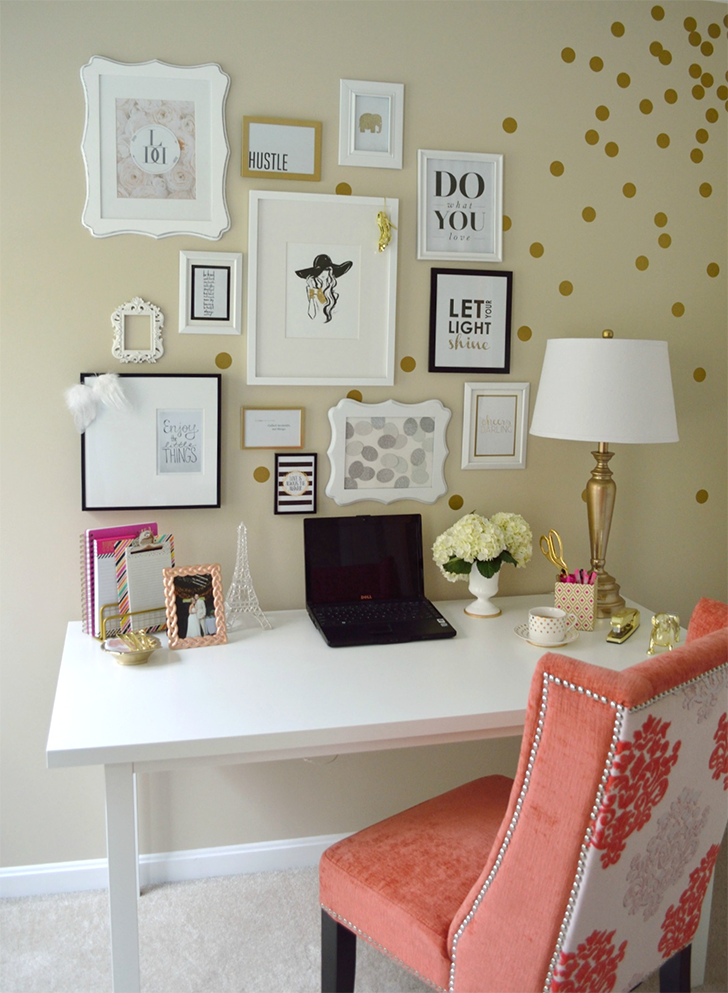 decoração glam home office 5