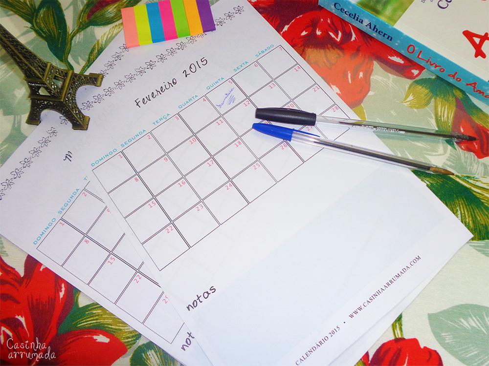 agenda planner 2015 para baixar 5