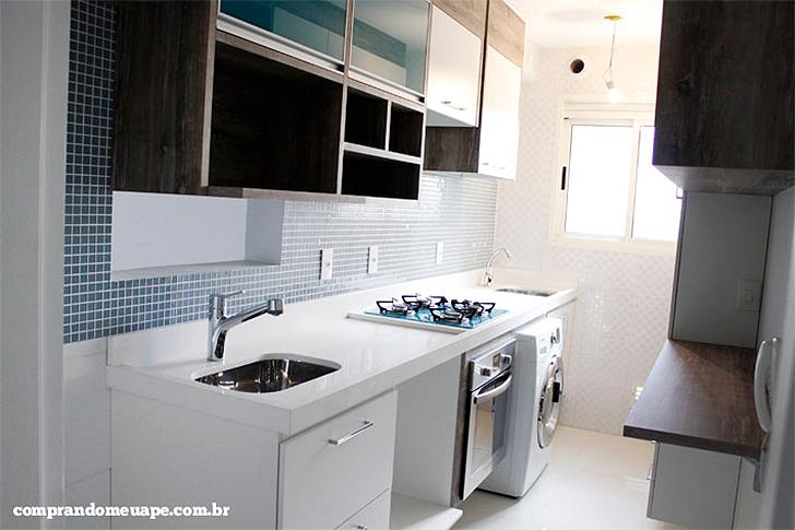 Adesivo De Parede Para Cozinha Mercado Livre ~ Como decorar cozinhas pequenas do tipo corredor Casinha Arrumada