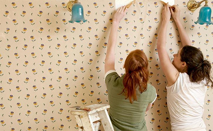 como remover papel de parede