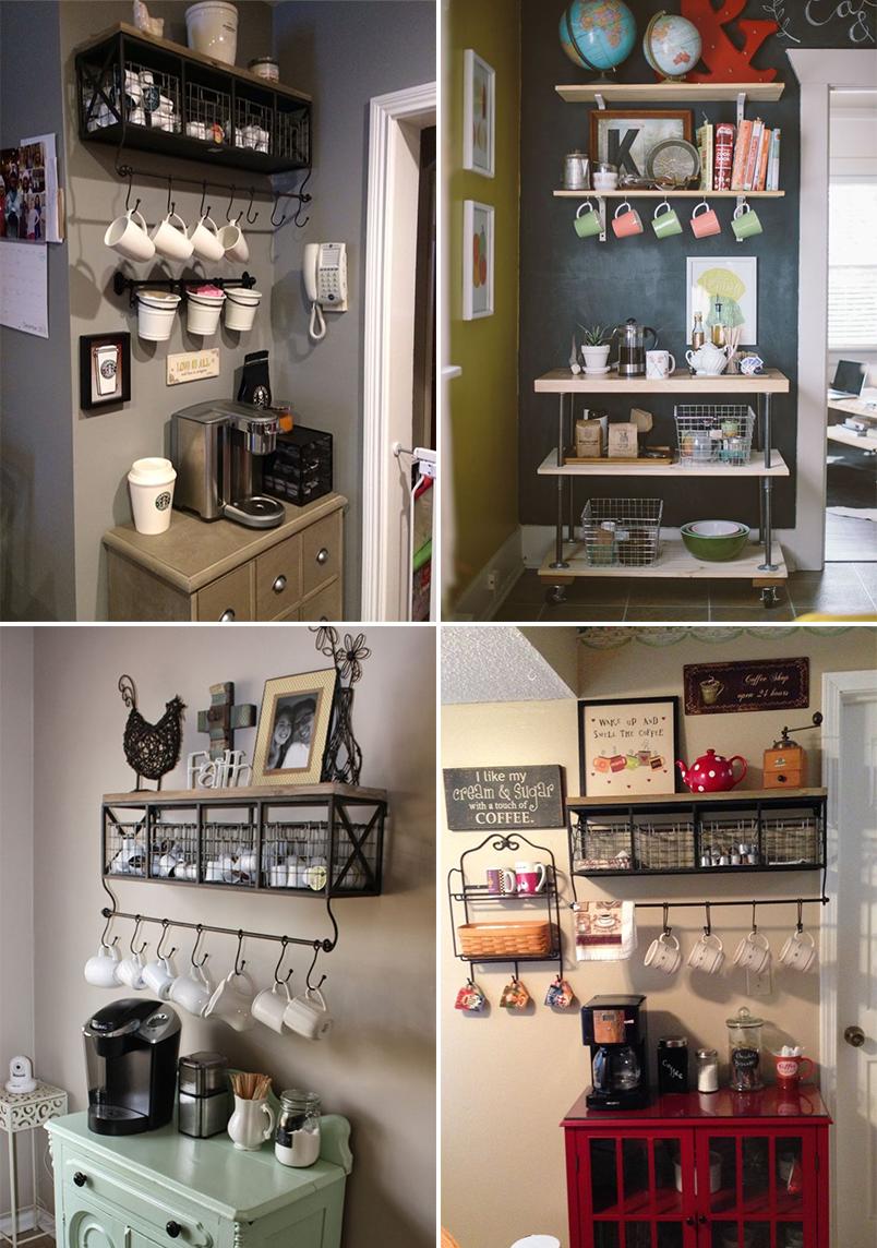 Dicas E Inspira Es Para Organizar O Cantinho Do Caf Em Casa