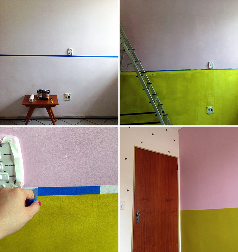 half painted walls 16