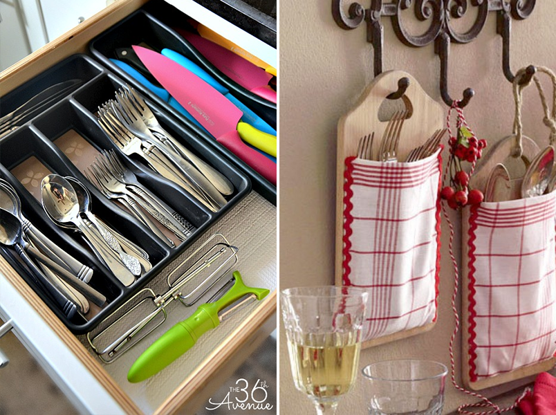 ideias para organizar a cozinha