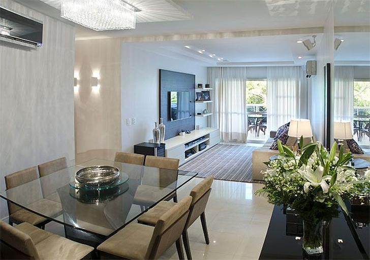 salas de estar e jantar integradas 20 fotos para voc se