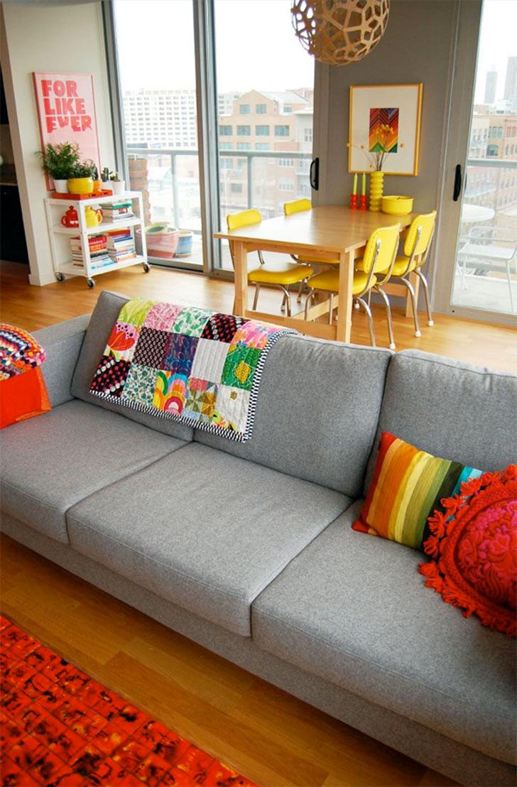 Salas De Estar E Jantar Integradas 20 Fotos Para Voc Se Inspirar  -> Decoracao De Sala De Estar Pequena Com Tv