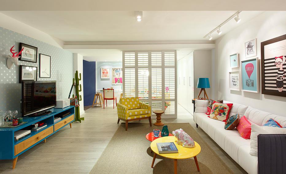 apartamento feminino colorido 1