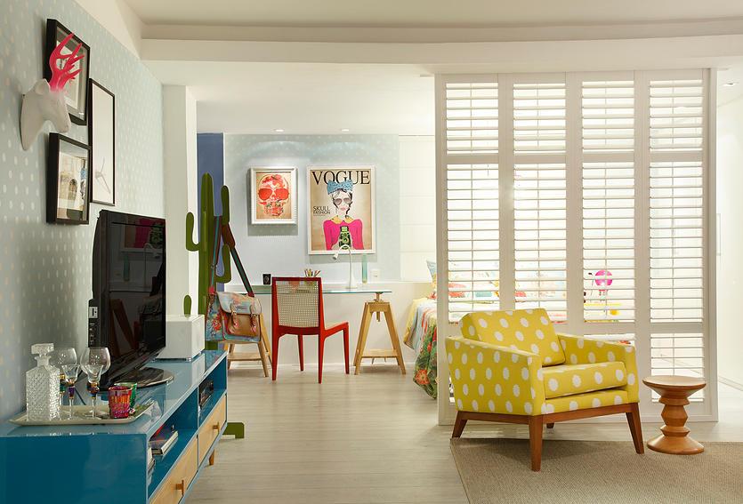 apartamento feminino colorido 6