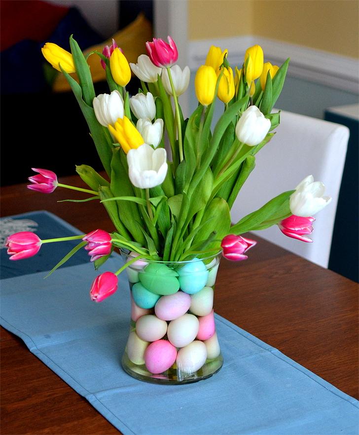 ideias criativas para decorar a mesa para a Páscoa 4