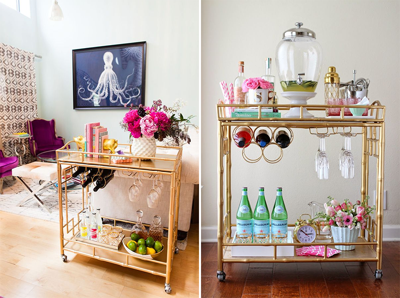 Dicas e inspira es para montar um mini bar em casa for Modelos de mini apartamentos