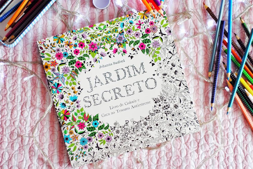 livros de colorir para adultos jardim secreto