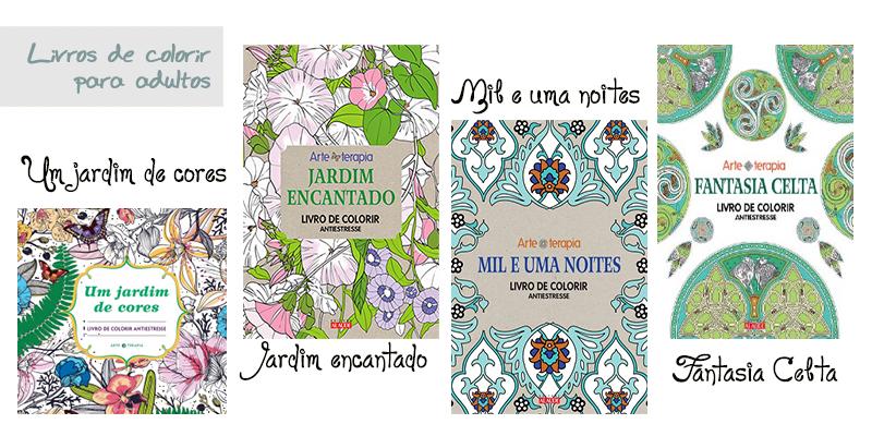 livros de colorir para adultos mais opções