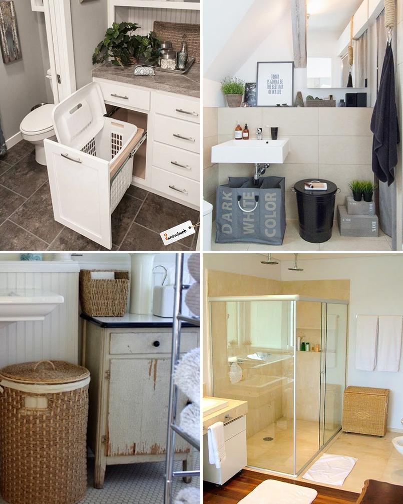 Organize cada cômodo #2 ideias para organizar o banheiro  Casinha Arruma -> Como Fazer Armario De Banheiro Reciclado