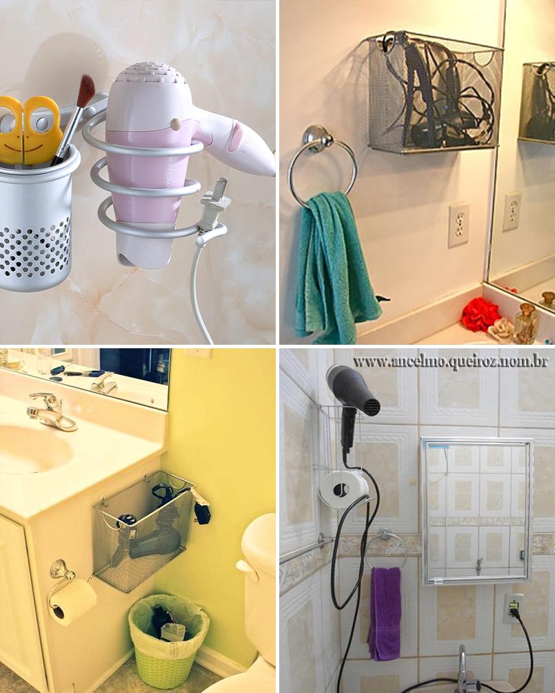 Organize cada cômodo #2 ideias para organizar o banheiro  Casinha Arrumada -> Organizar Armario De Banheiro