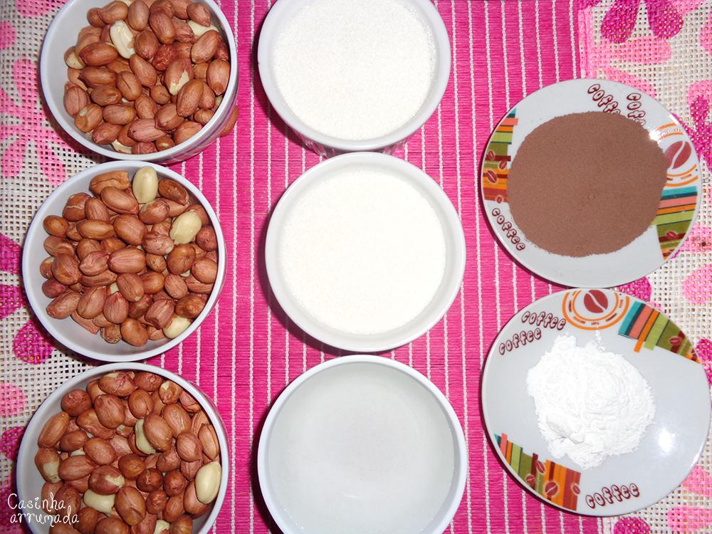como fazer amendoim doce 1