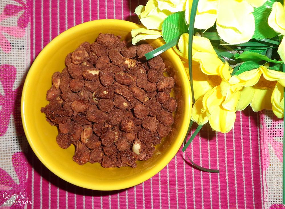 como fazer amendoim doce 5