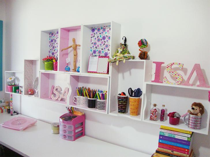 como organizar e decorar a estante 11