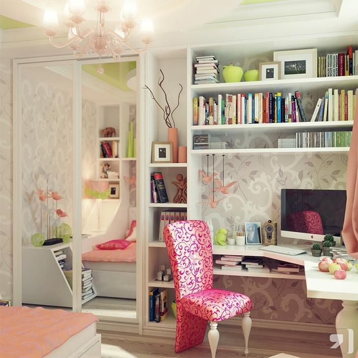 como organizar e decorar a estante 12