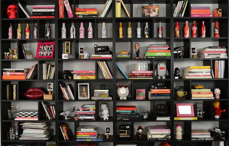 como organizar e decorar a estante 13