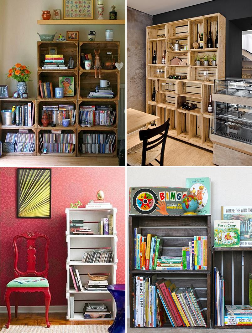 como organizar e decorar a estante 3