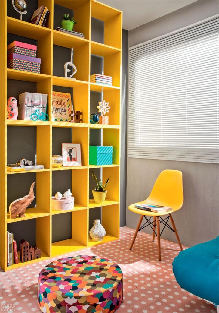 como organizar e decorar a estante 8
