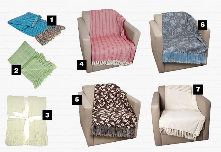 onde comprar mantas para o sofá