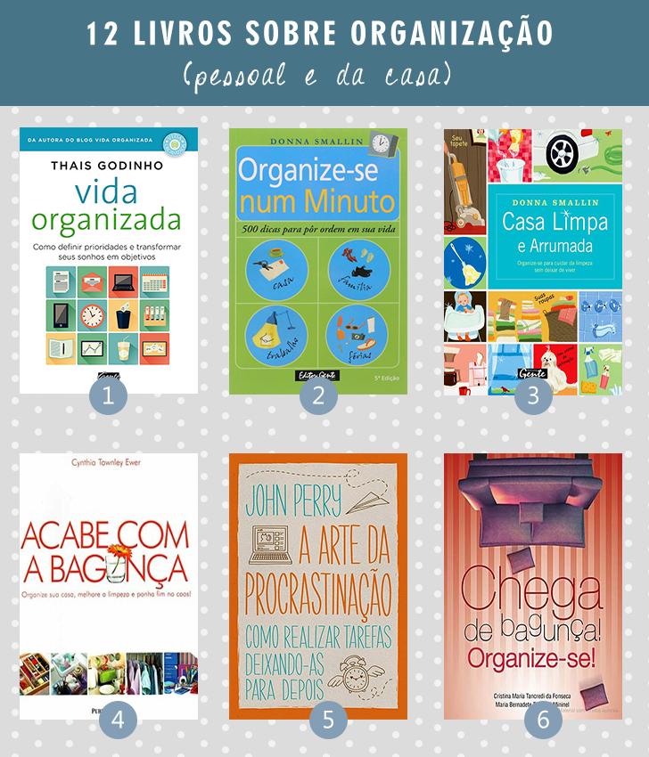 12 livros sobre organização 3