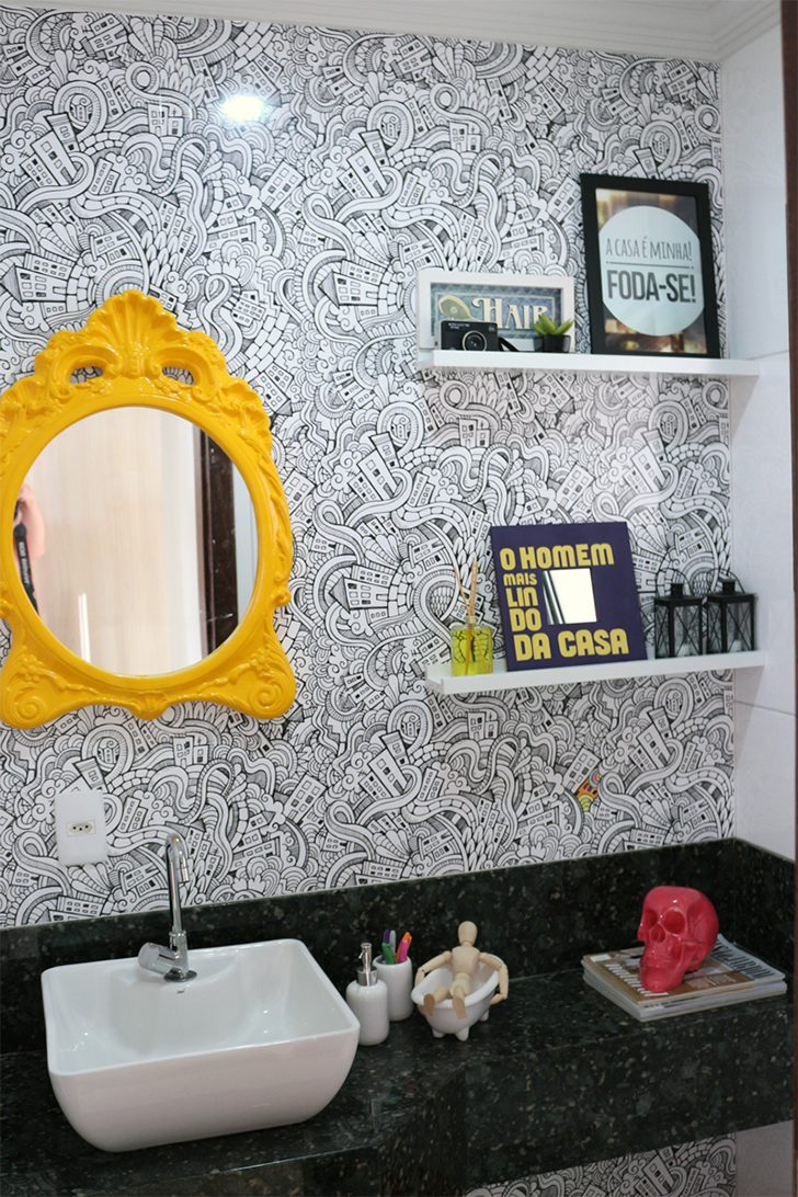 como decorar lavabos pequenos - decoração lavabos - 1