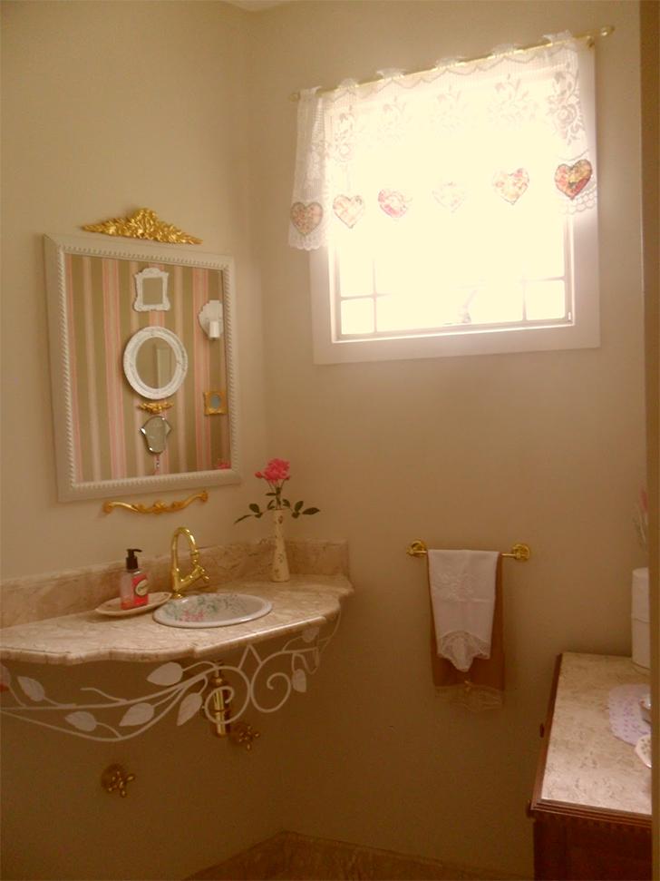 Como decorar lavabos pequenos 15 modelos inspiradores - Decorar recibidores pequenos ...