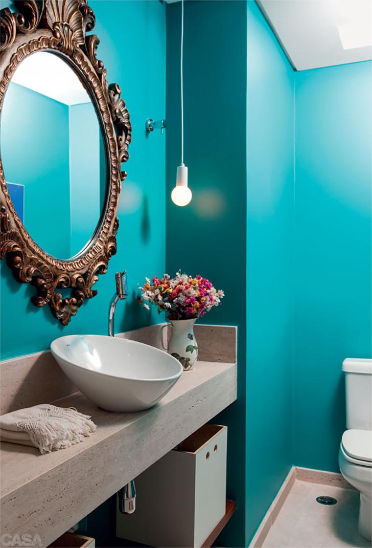 como decorar lavabos pequenos - decoração lavabos - 2
