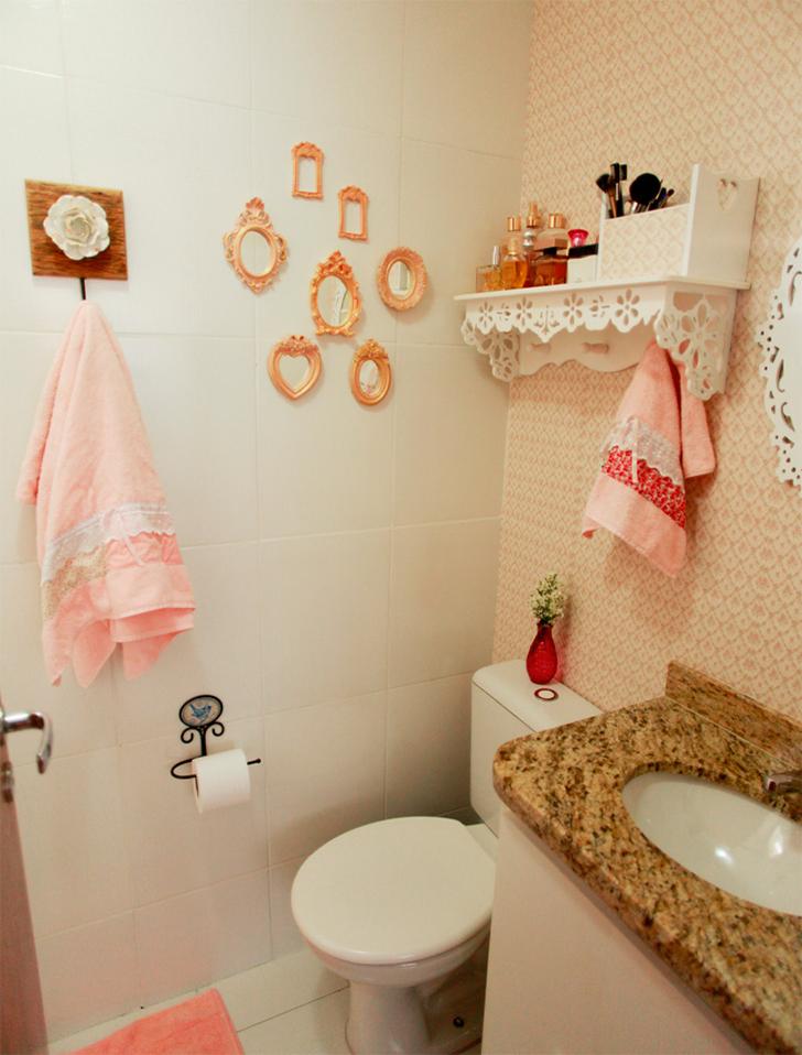 Como decorar lavabos pequenos 15 modelos inspiradores for Como decorar c