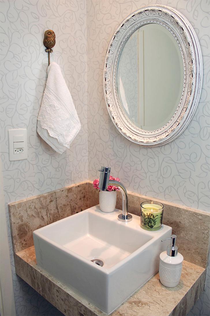Como decorar lavabos pequenos 15 modelos inspiradores - Decorar duplex pequeno ...