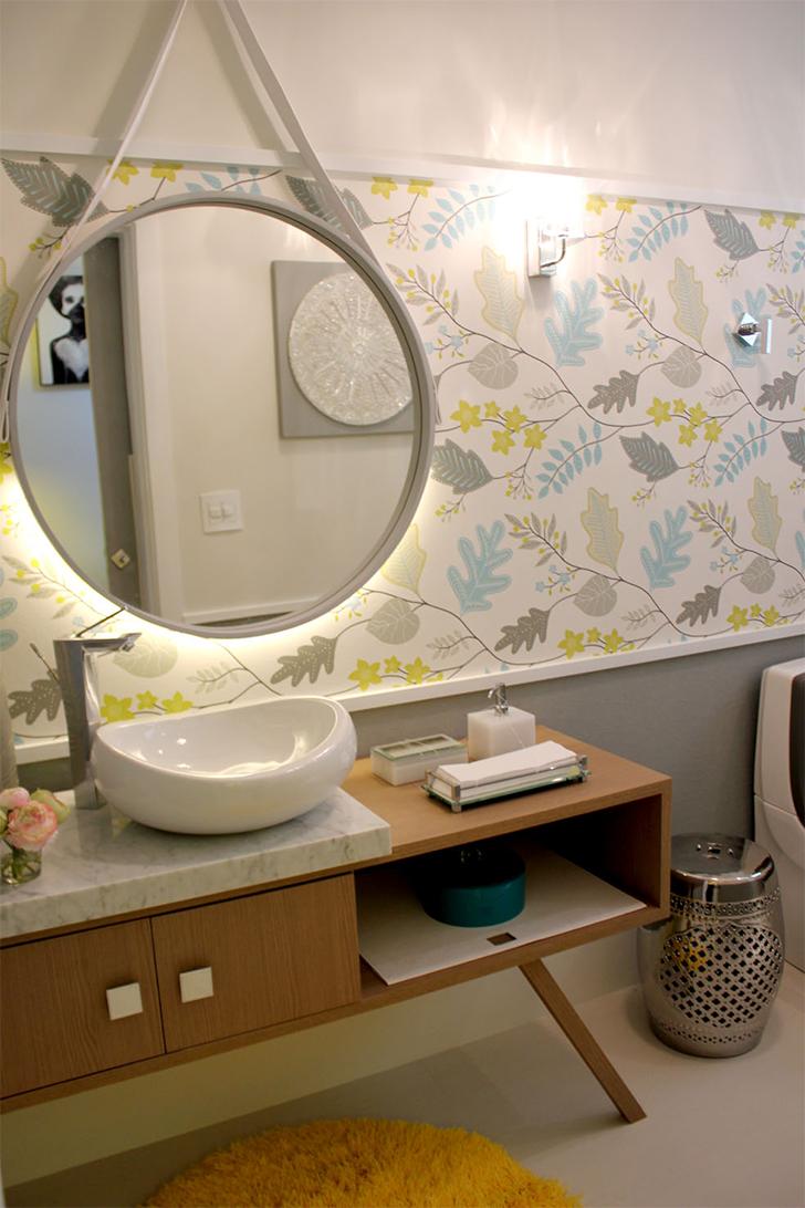 decorar lavabo pequeno:como decorar lavabos pequenos – decoração lavabos – 9