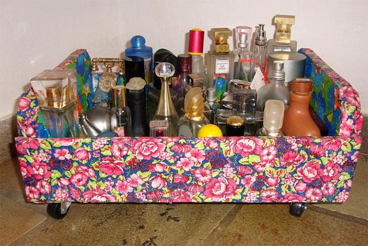 10 maneira de organizar a casa usando caixotes de feira 10