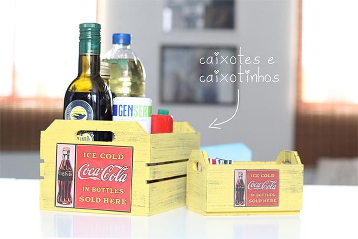 10 maneira de organizar a casa usando caixotes de feira 2