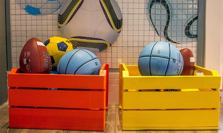 10 maneira de organizar a casa usando caixotes de feira 3