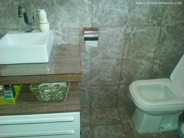 VLOG DA REFORMA Reforma do banheiro 7