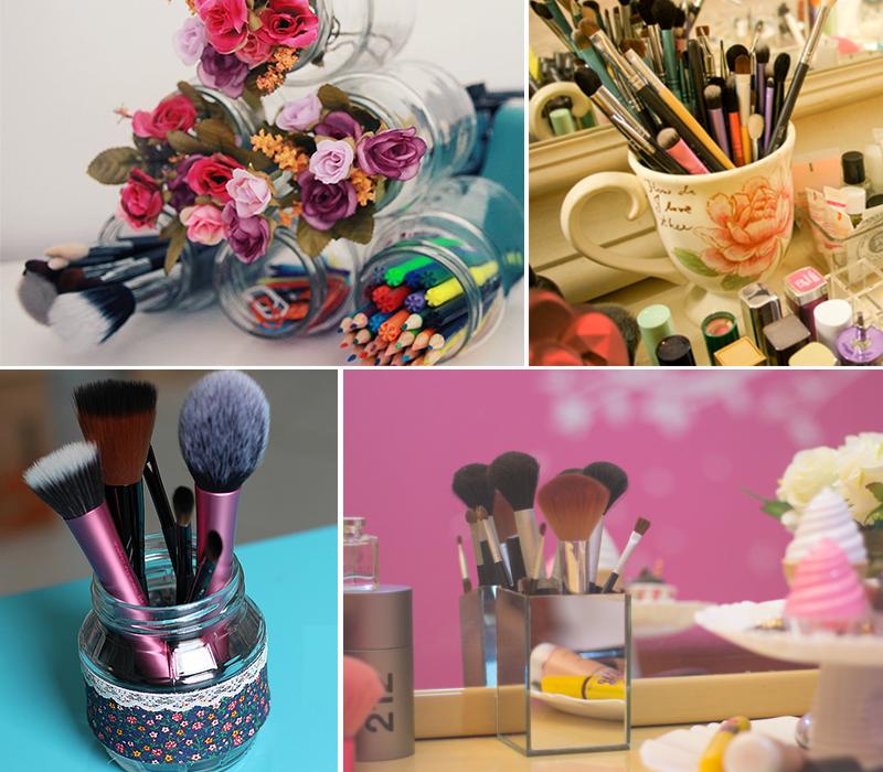 como organizar maquiagens e cosméticos 3