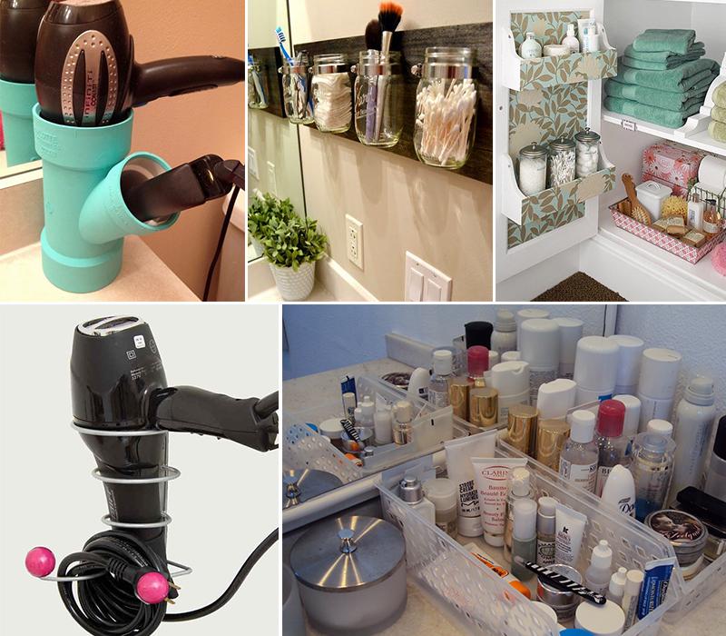 como organizar maquiagens e cosméticos