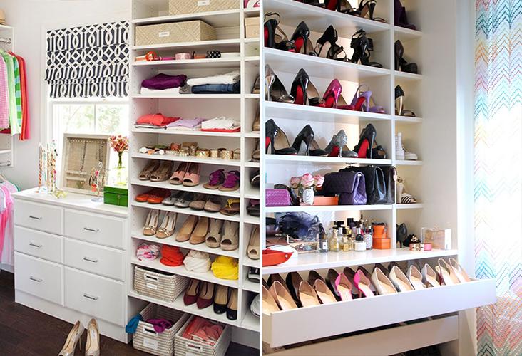 como planejar, decorar e organizar um closet pequeno 2
