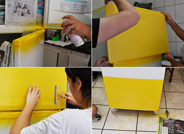 geladeira colorida 8