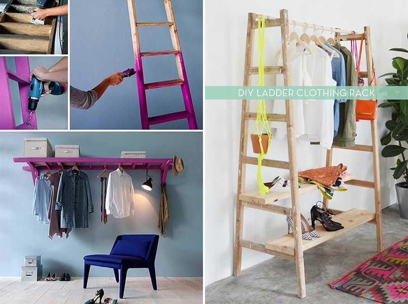 10 inspirações de closets pequenos, charmosos e baratinhos (que você mesma pode fazer) 2