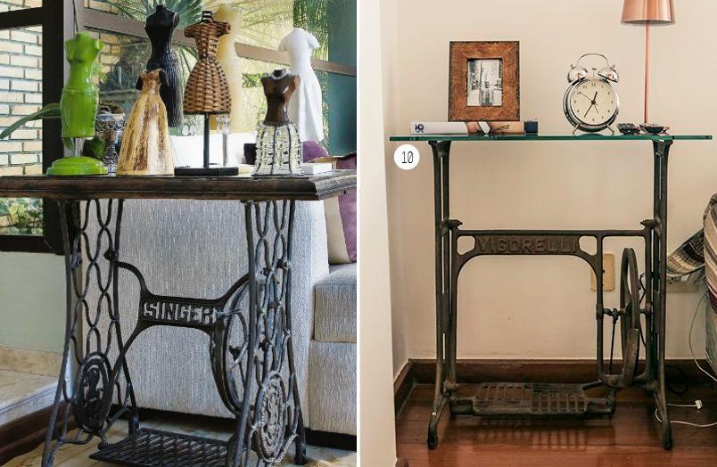 10 maneiras de reaproveitar o pé da máquina de costura na decoração 11