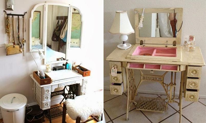 10 maneiras de reaproveitar o pé da máquina de costura na decoração 7