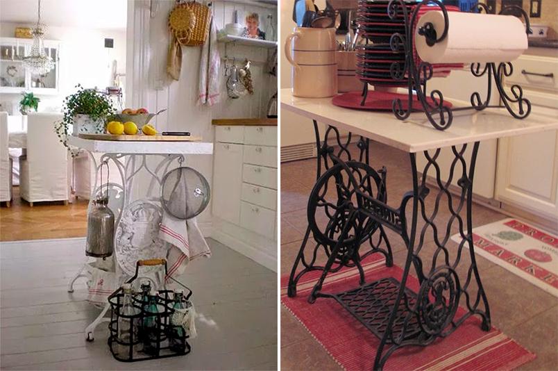 10 maneiras de reaproveitar o pé da máquina de costura na decoração 9