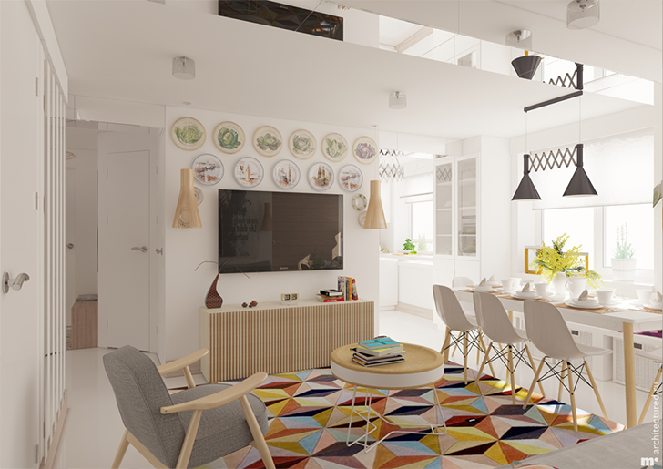 3 projetos de salas decoradas para você se inspirar 3