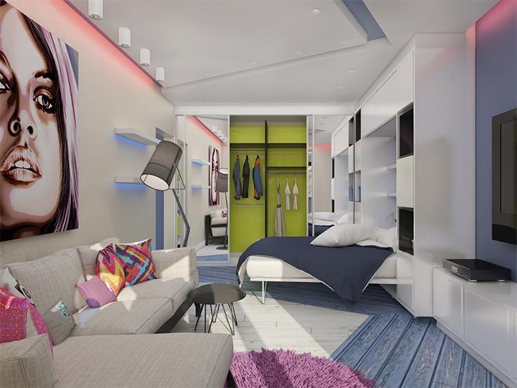 Pequeno apartamento lindo e inspirador 2