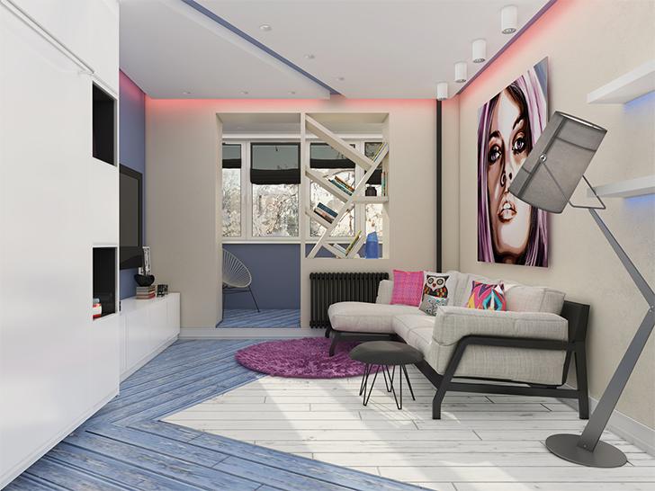 Pequeno apartamento lindo e inspirador 3
